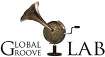 Global Groove LAB I'm a Stranger album cover logo