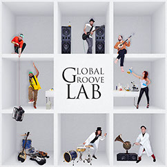 Global Groove LAB I'm a stranger abum cover
