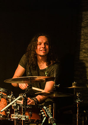 Martin Peham - drummer of Global Groove LAB